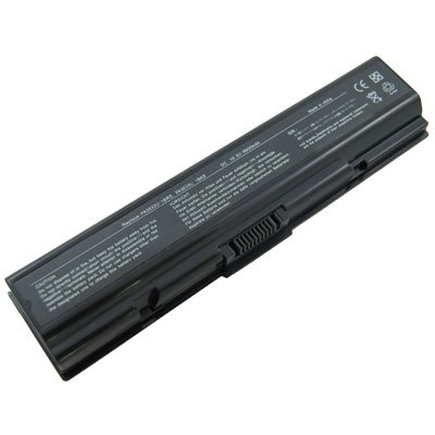 Compatible Laptop Battery for Toshiba Satellite L505D-GS6000, 9 cells 6600mAh Black