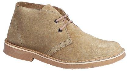 Roamers Mens M400 Camel Suede New Mens Desert Boots Shoes-10