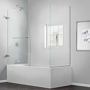 DreamLine SHDR-3534586-RT-04 Aqua Uno 56 to 60-Inch