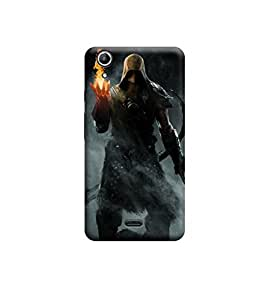 Ebby Premium Printed Back Case Cover With Full protection For Micromax Canvas Selfie Lens Q345 (Designer Case)