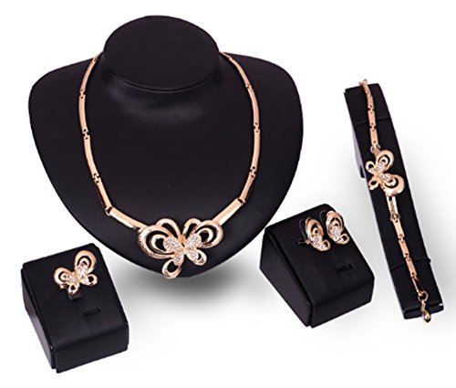 saysure-18k-yellow-gold-plated-crystal-butterfly-pendant-jewelry-sets
