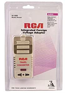 RCA International Voltage Converter Adapter Travel Kit