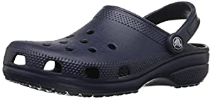 crocs Unisex Classic Clog,Navy,6 US Men's / 8 US Women's