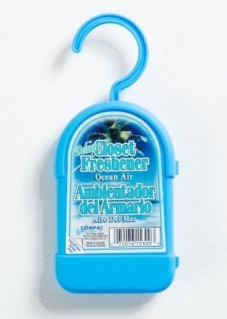 Compac 15300 Deluxe Closet Fresehner - Ocean Air 2 Count - 1