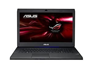 Asus G73JH-TZ091V 43,9 cm (17,3 Zoll) Notebook (Intel Core i7 720QM, 1,6GHz, 8GB RAM, 1TB HDD, ATI HD 5870, Win7 HP, Blu-ray)