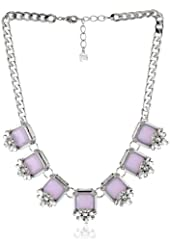 "Carolee LUX ""Haute Hollywood"" Square Cut Frontal Necklace, 20"""