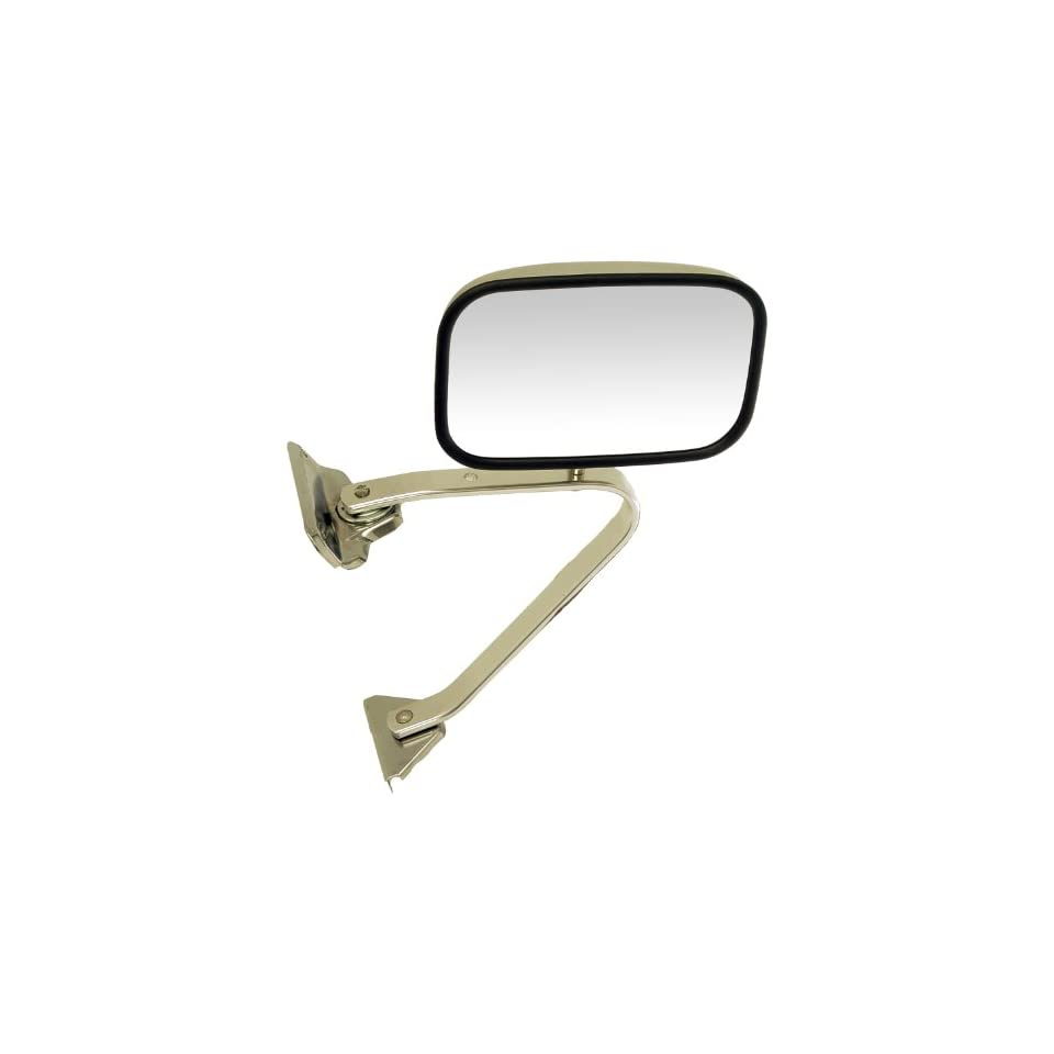 Dorman 955 180 Ford Manual Chrome Replacement Mirror (Fits Driver/Passenger side)