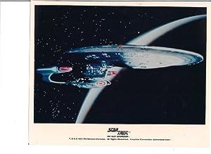 Star Trek The Next Generation Uss Enterprise Ncc-1701d Space Photo Licensed 1991