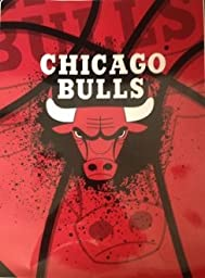 Chicago Bulls Supersized Supersoft Royal Plush Raschel Blanket-Throw-Aggression Series- All Other NFL, NHL, NBA, MLB Team Blankets Available-Plz Mention In Gift Message If Need A different Team