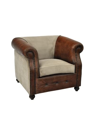 Berkeley Club Chair, Tan/Brown As You See