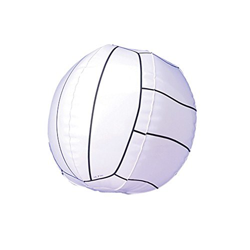 One Inflatable Volleyball Style Vinyl Beach Ball