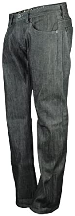 Cult of Individuality Men's Hagen Relaxed Black Jean Pants