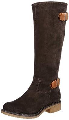 Gant Cayla dk brown/tan sue/leath 45.1039.02.D40, Damen Stiefel, Braun (dark brown tan), EU 40