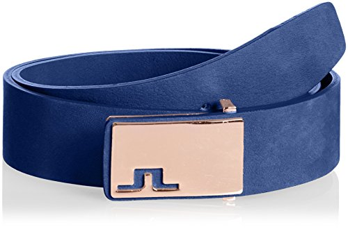 (ジェイリンドバーグ)J.LINDEBERG ベルトメンズ Cutter Brushed Leather 073-61305 98 ネイビー 90