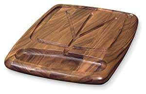 Ironwood Gourmet, Acacia Wood, 22-inch by 15-inch by 1.5-inch Kansas City Carving Board