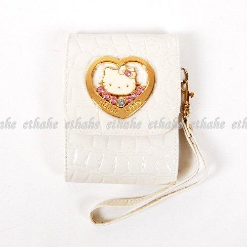 Hello Kitty Mobile Cell Phone Camera Holder White