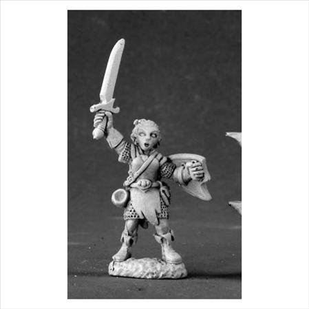 Elliwyn Heatherlark Gnome Bard Dark Heaven Legends Miniatures