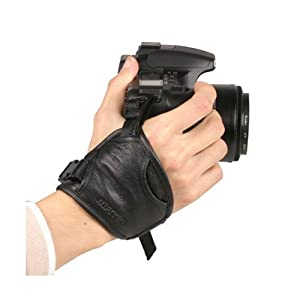 Matin - Poignée en cuir véritable pour appareil photo réflex (DSLR) - Grip-6 - pour Sony Canon Nikon Fuji SLR Panasonic reflex Olympus