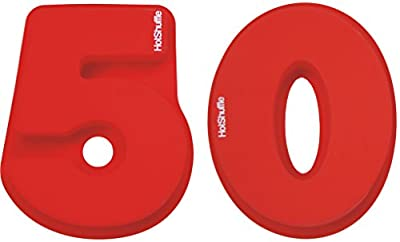Large Silicone Number 50 Cake Tin Mould 50th Birthday Golden Wedding Anniversary 5 0