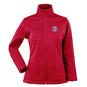 Minnesota Twins Ladies Jacket - MLB Antigua Ladies Traverse Performance Jacket - Dark... by Antigua