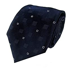 Rossini Men's Tie (UFAM44_Blue_Free Size)