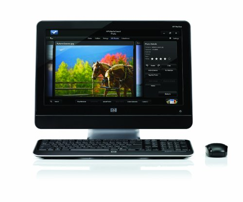 HP All-in-One MS235 Desktop PC - Black