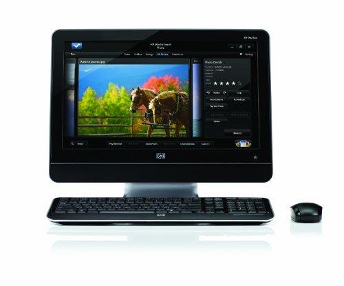 HP All-in-One MS235 Desktop PC - Black