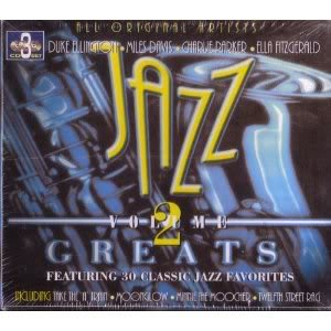 Jazz Greats - Volume 2 - 3 CD's - 30 Songs - Artie Shaw - Tommy Dorsey - Woody Herman -... by The Bob Cats, Charlie Parker Artie Shaw, Ella Fitzgerald Benny Goodman, Glenn Miller Duke Ellington, Billy Eckstine Tommy Dorsey and Chick Henderson Woody Herman