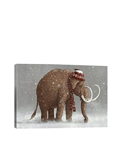 Terry Fan The Ice Age Sucked Gallery-Wrapped Canvas Print