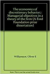 Phd thesis behavioral economics