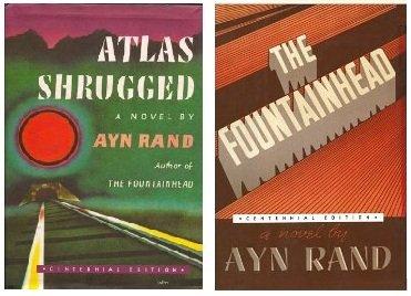 Atlas Shrugged The Fountainhead Centennial Edition Atlas Shrugged Fountainhead By Ayn Rand Atlas Shrugged The Fountainhead 2 Book Set