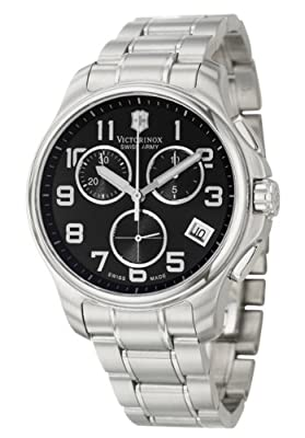 Victorinox Swiss Army Men's SWISSA-241453 Officer's Stainless Steel Watch