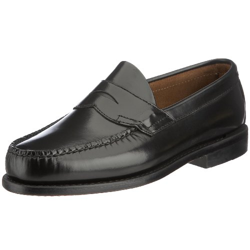 John Spencer Men's Boston Loafer Black 508 9 UK