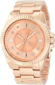 Juicy Couture 1900927 - Reloj de pulsera mujer, acero inoxidable, color dorado