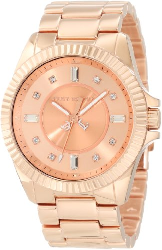 Juicy Couture Women's 1900927 Stella Rose Gold Bracelet Watch