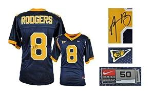 Aaron Rodgers California Golden Bears Navy Nike Jersey - Mounted Memories Certified -... by Sports+Memorabilia