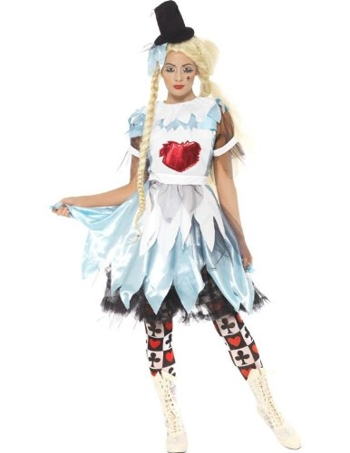 Alice in Wonderland Halloween Fancy Dress Costume