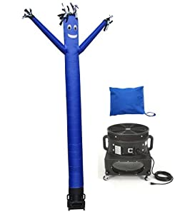 Torero Inflatables Air Dancer Tube Man Inflatable, Blue, 20-Feet by Torero Inflatables