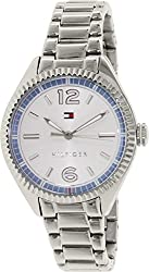 1781519 Tommy Hilfiger Stainless Steel Ladies Watch - Silver Dial