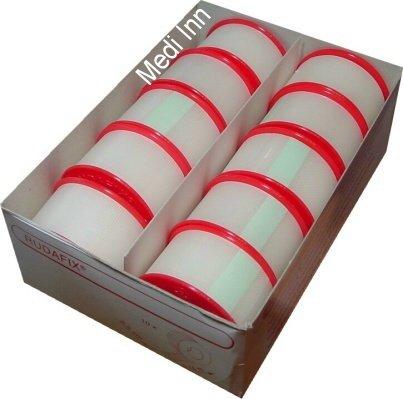 10 x  Pflaster Rudafix Fixierpflaster Hypoallergen 2,5 cm x 9,14 m