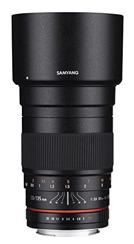 Samyang 135mm F2.0 Objektiv für Anschluss Olympus 4/3