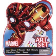 Bendon Marvel Characters Art Set (Assorted Styles) - 1
