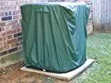 Central Air Covers : 26 x 26 x 32 Green