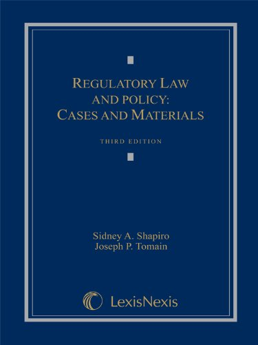 Regulatory Law and Policy: Cases and Materials