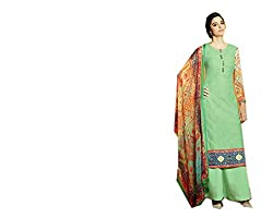 Ekus creations Women's Cotton Dress Material