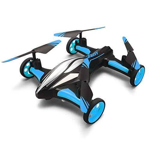 GEEDIAR-Auto-Geformtes-Mini-Quadcopter-Drone-24G-6-Kanle-Ferngesteuerte-Spielzeug-mit-360--Umstlpung-fr-Fliegen-und-Fahren