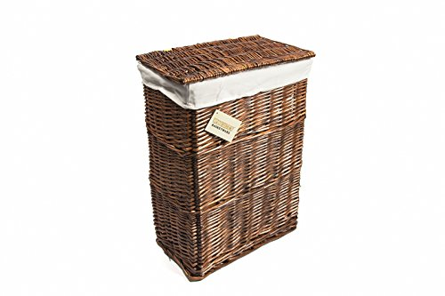 woodluv-medium-rectangular-laundry-linen-willow-wicker-basket-with-lining-brown