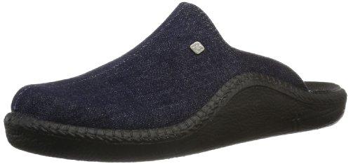 Romika Mokasso 215, Pantofole uomo, Blu (Blau (darkdenim 519)), 45
