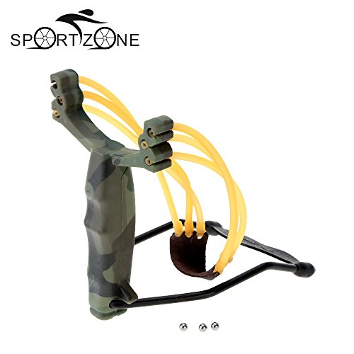 Alcoa Prime Adult Slingshot Outdoor Powerful Sling Shot Folding Wrist Camouflage Hunting Slingshot Catapult For...