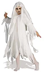 Ghost Costumes Ghostly Spirit Child's Halloween Costumes. Size: Large.